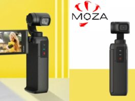 Photo MOZA MOIN 4K Gimbal