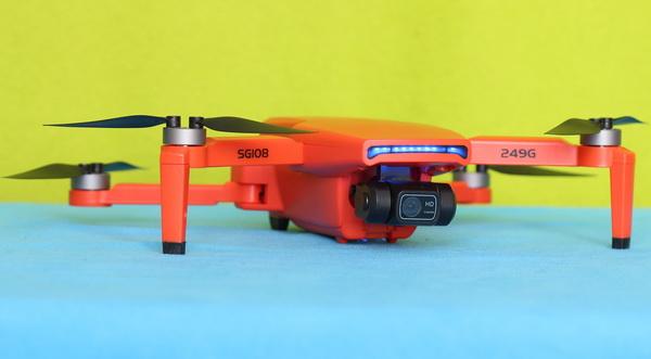 Design of SG108 Pro drone