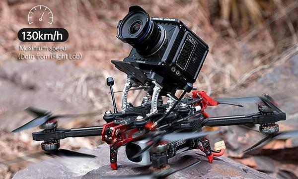 ED Digital Cinema Camera drone platform