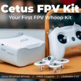 Photo of BetaFPV Cetus drone