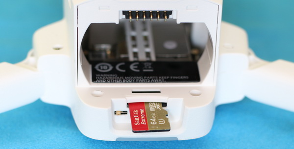 Connectors and micro SD slot