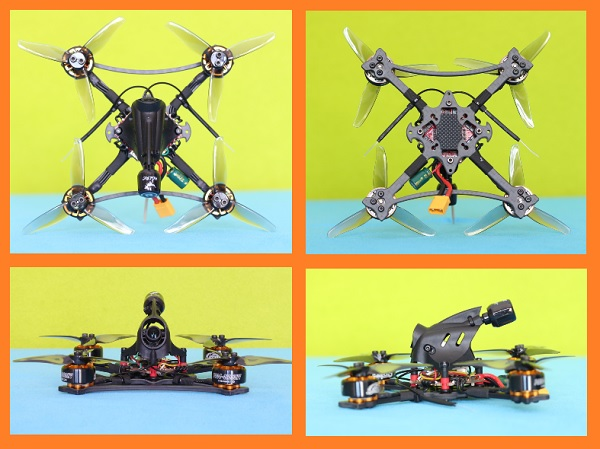 Design of HGLRC Petrel 120x Pro drone