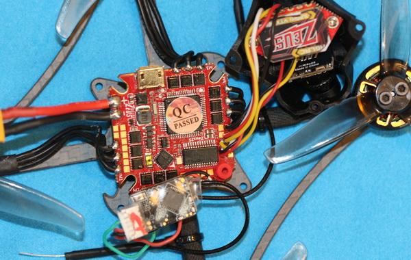 Petrel 120x Pro components view