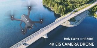 Photo of HS700E drone