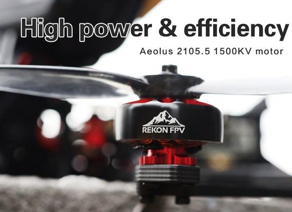 Aelous 2105.5 1500KV motors