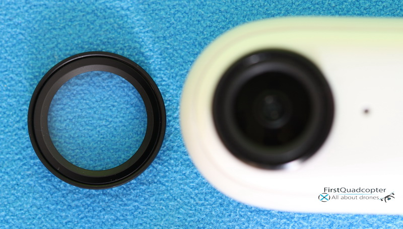 Removable filter / lens protector