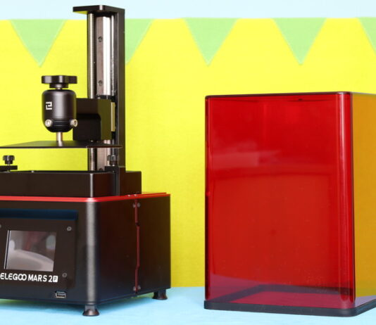 Elegoo Mars 2 Pro 3D printer