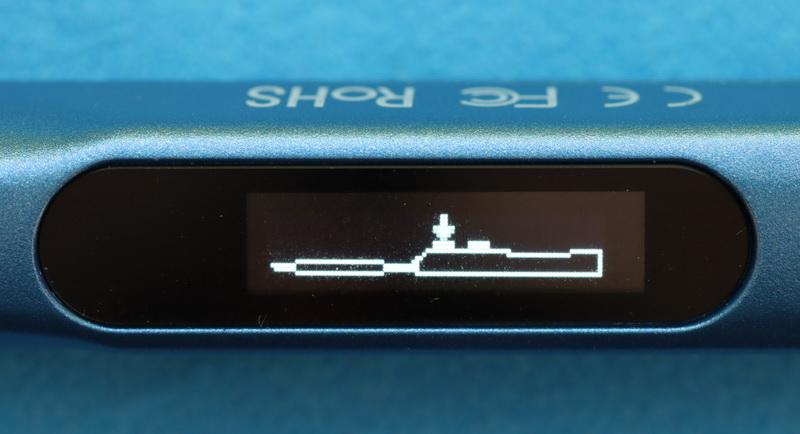 OLED status screen