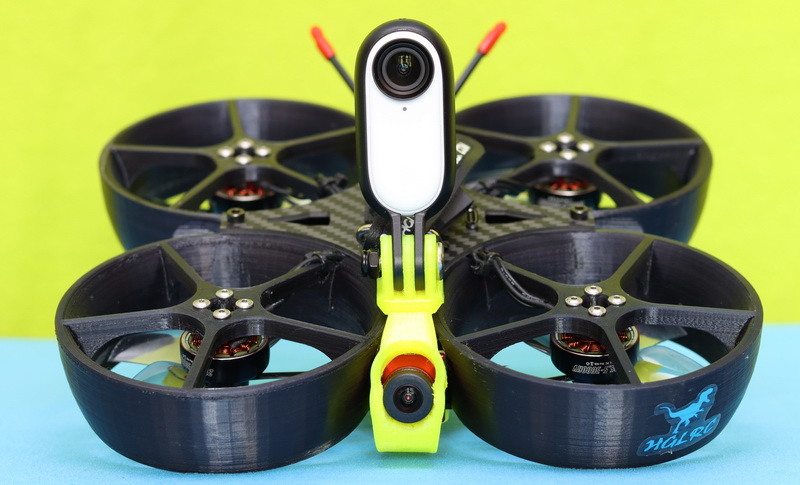 3D printed RaceWhoop drone