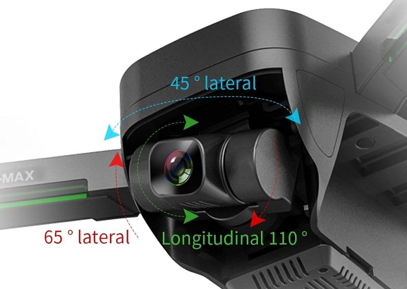4K 3-axis camera